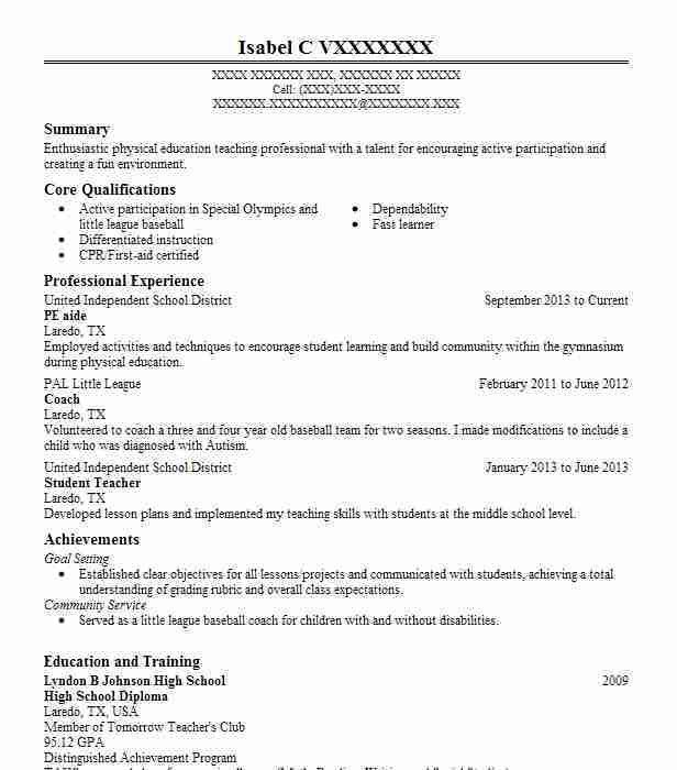 resume with high school diploma