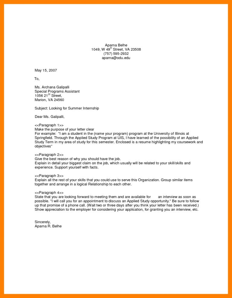 Winsome General Cover Letter For Resume 13 4 General Cover Letter ...