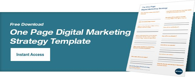 Free Digital Marketing Plan Template - Emmix Australia - Your ...