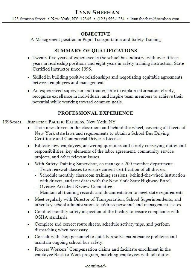 Resume Summary For College Student [Template.billybullock.us ]