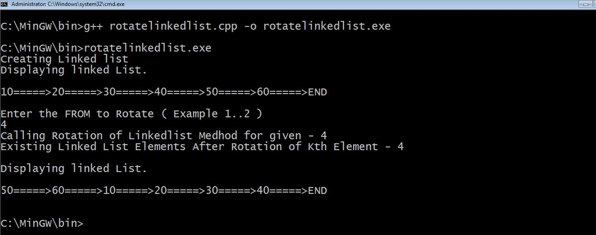 How to Rotate Linked List with Easy 4 Steps,explained with images ...