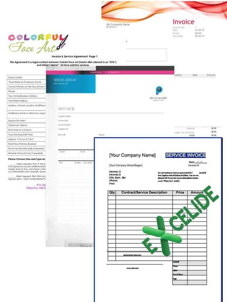 86 best Excel Invoice Template images on Pinterest | Invoice ...