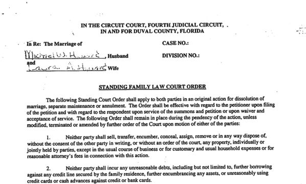 Florida Divorce Forms - The Complete List of Family Law Forms