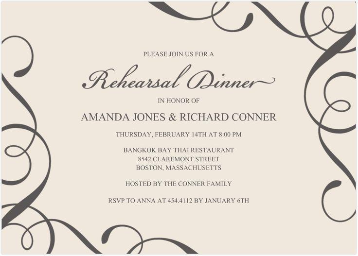 Best 25+ Dinner invitation wording ideas on Pinterest | Rehearsal ...