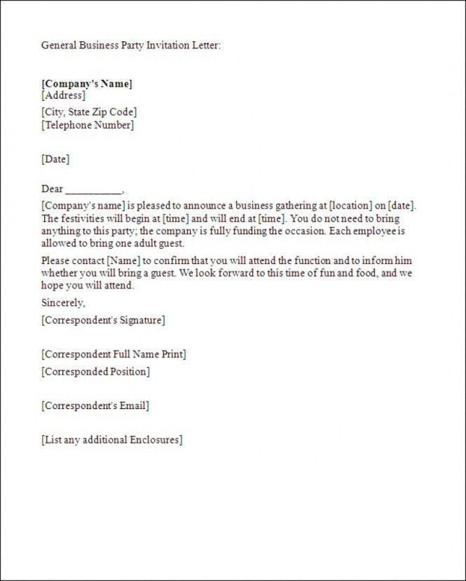 christmas party letter of invitation : Cogimbo.us