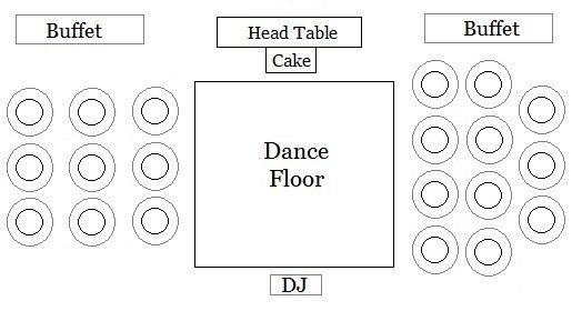 wedding reception template seating chart