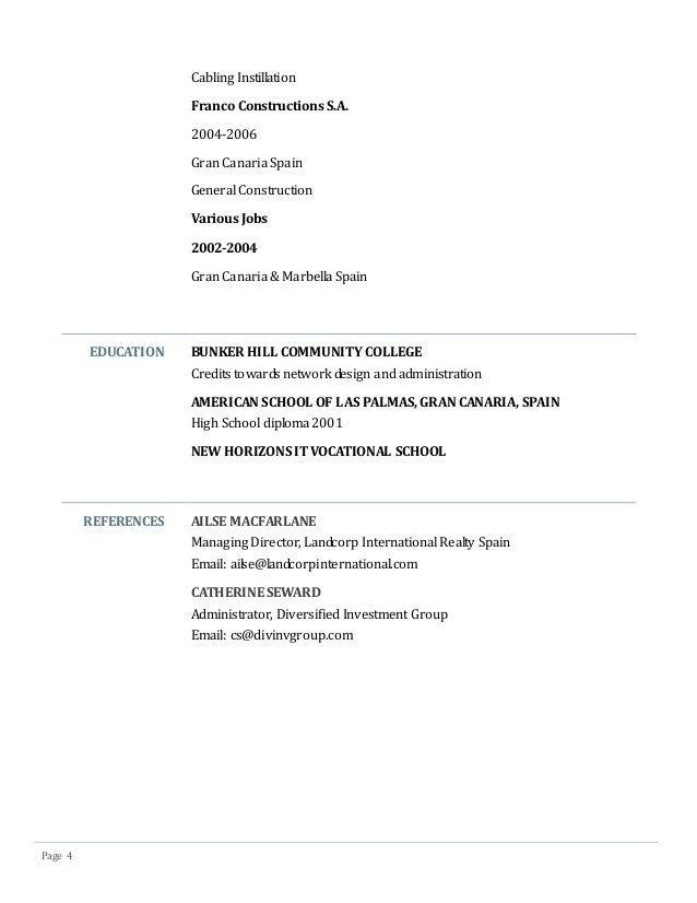 Christian W. Marr Resume & Cover Letter October 2014