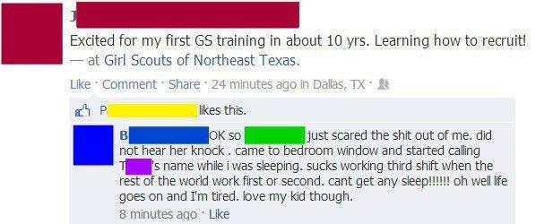 STFU Parents: Non-Sequitur Mommyjacking on Facebook
