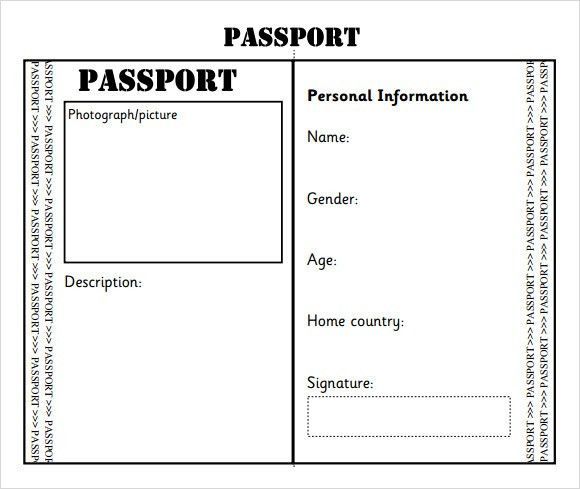 Sample Passport - 8+ Documents in PSD, PDF , Word