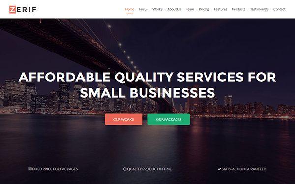 Bootstrap Portfolio & Resume Templates | WrapBootstrap
