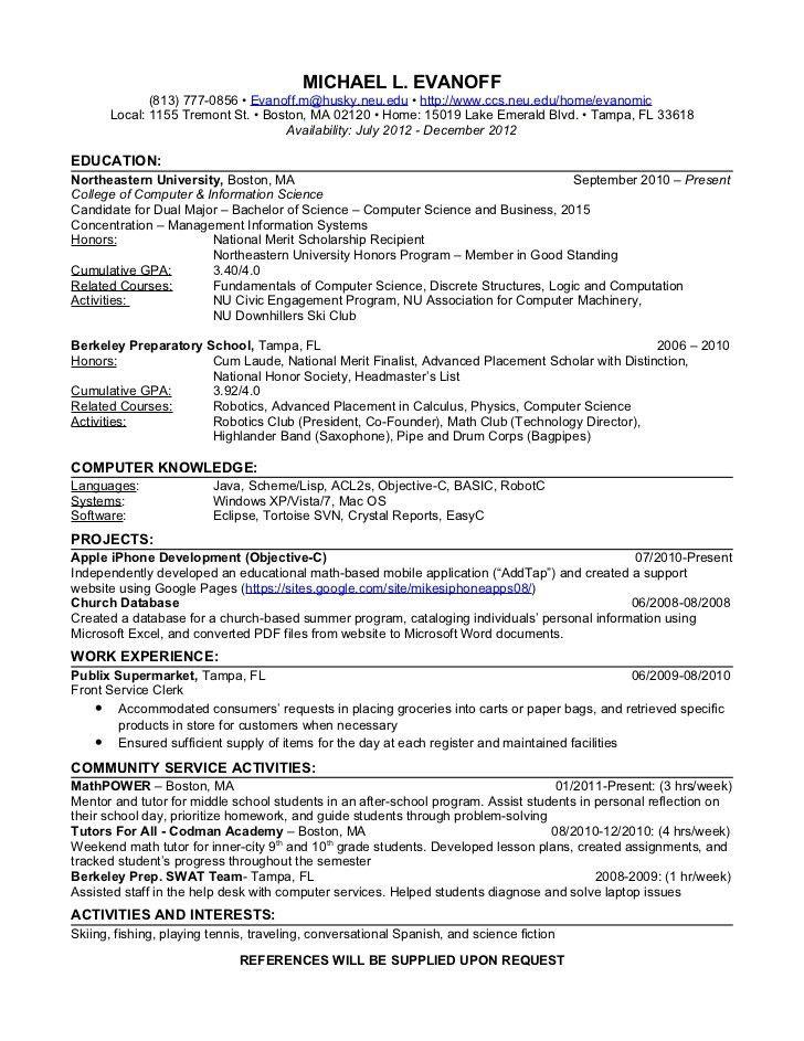 Download Math Tutor Resume   haadyaooverbayresort.com