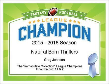 12 best Fantasy Football Awards - Certificates Templates images on ...