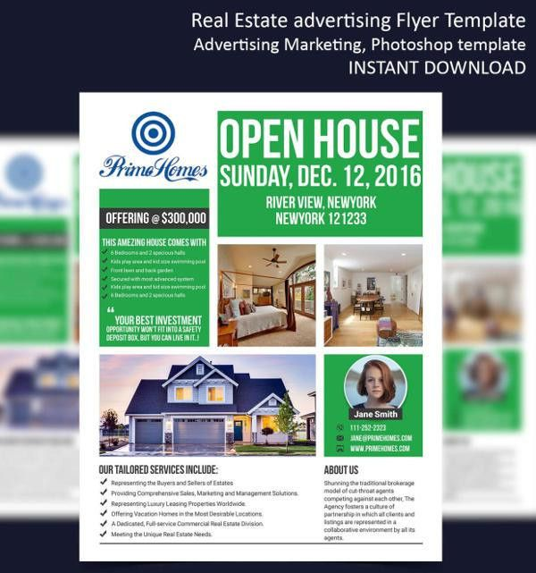 9+ Real Estate Sale Flyers - Editable PSD, AI, Vector EPS Format ...