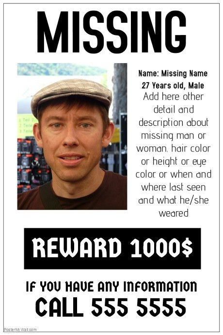 poster freewordtemplates net. free missing people flyers fliers ...