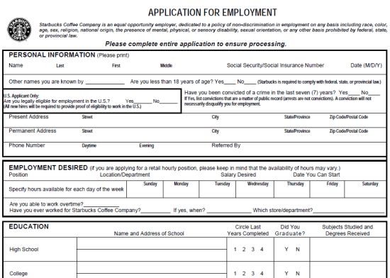 Pin by DIY Home Decor on Job Application Forms | Pinterest ...