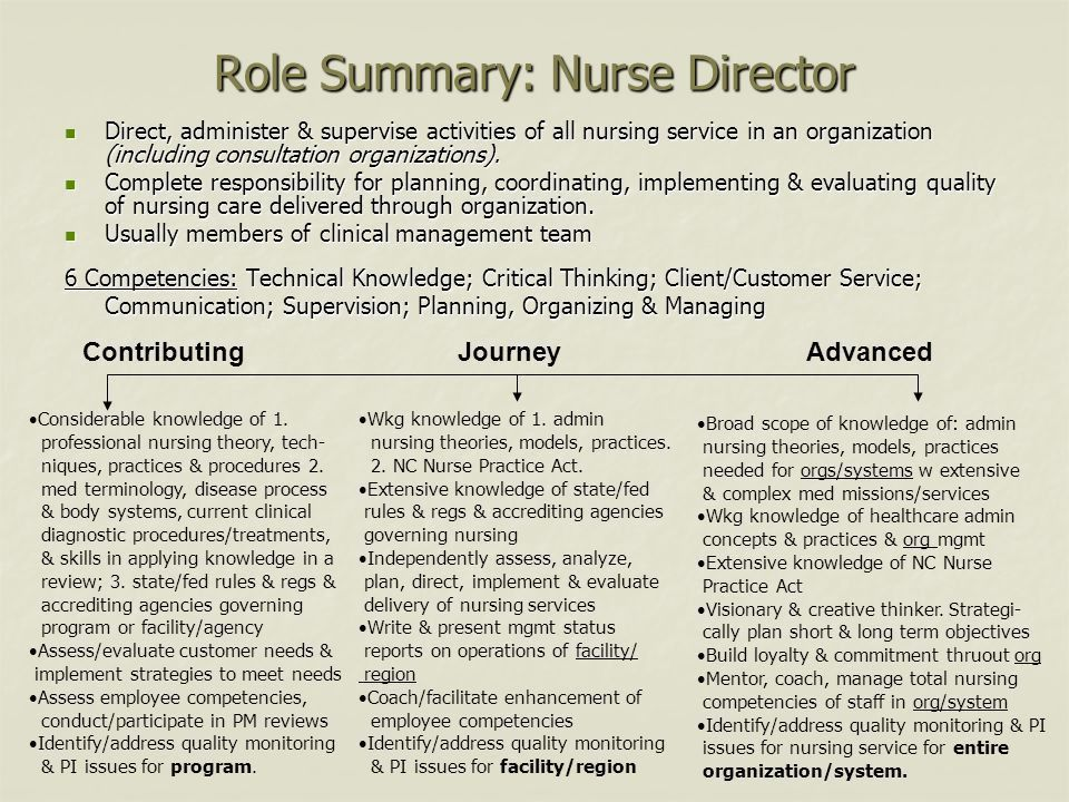 Career Banding Training for Nursing - ppt download