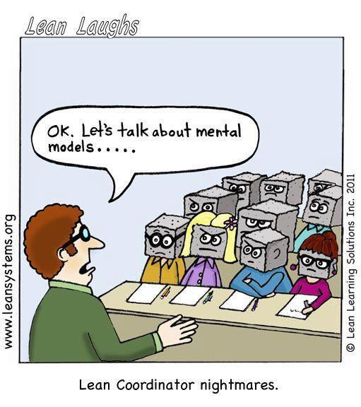 talking to block heads cartoon | Lean Laughs | Pinterest | Block head