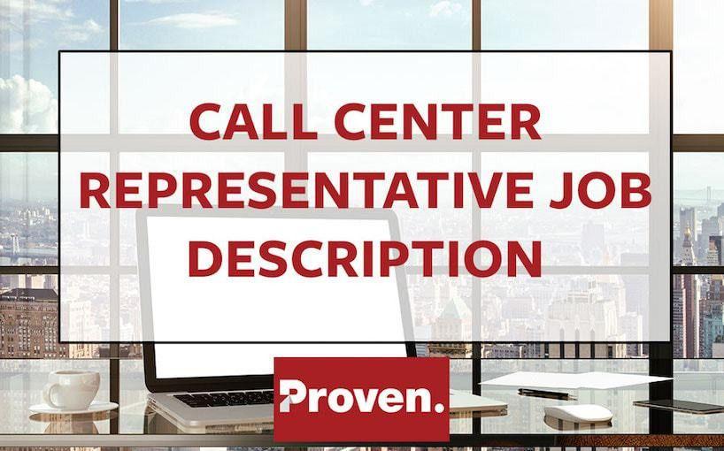 The Perfect Call Center Representative Job Description