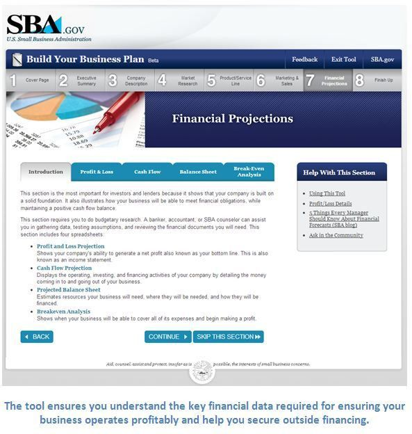 Need Help Building a Business Plan? SBA's Online Tool Can Help You ...