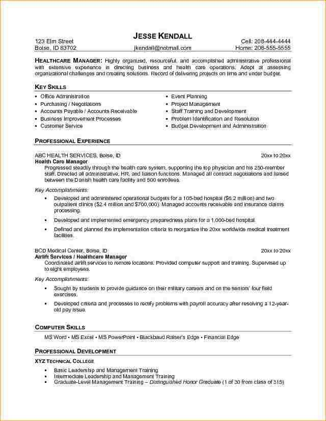Administration resume objective examples - Business Proposal ...