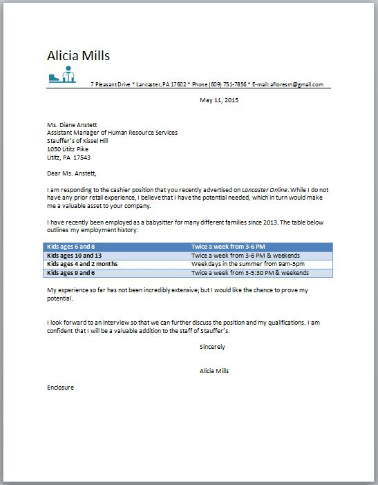 Resume & Cover Letters - Alicia Word Processing
