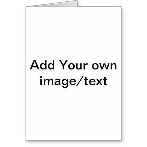 Blank Card Template. 8 Best Images Of Custom Bingo Card Printable ...