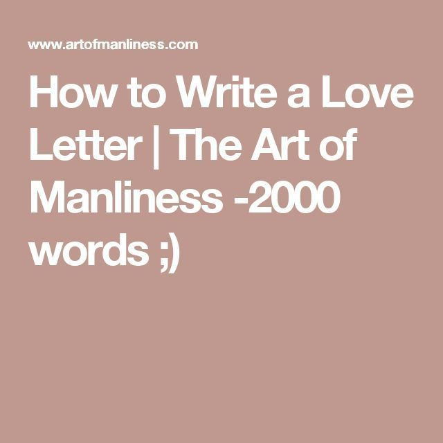 Best 25+ Writing a love letter ideas on Pinterest | More love ...