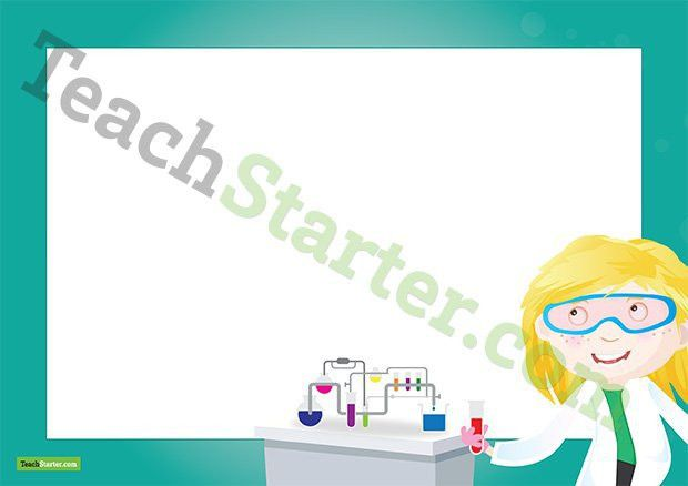 Science Page Border - Word Template Teaching Resource – Teach Starter