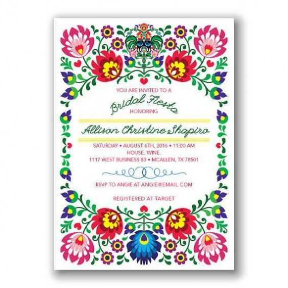 Mexican Party Invitations Trends In 2017 | THEWHIPPER.COM