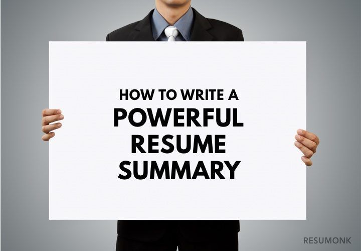 How to Write a Powerful Resume Summary (10 Best Examples ...
