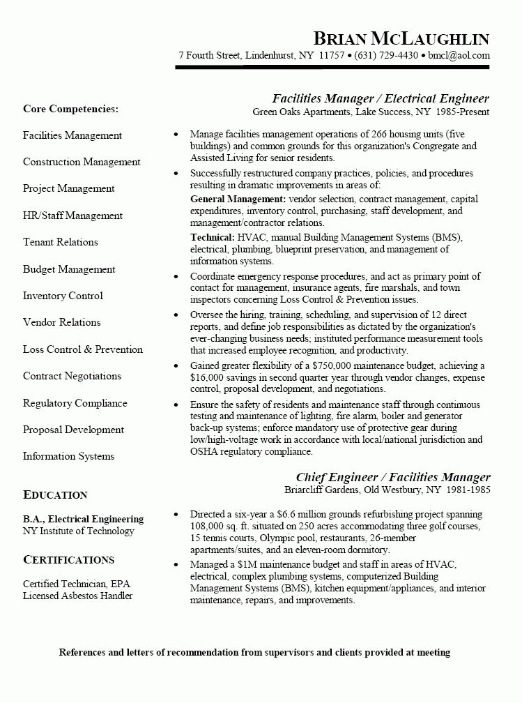 Download Maintenance Engineer Sample Resume | haadyaooverbayresort.com