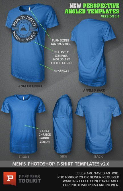 Ghosted T-Shirt Design Template PSD mockup version 2.0