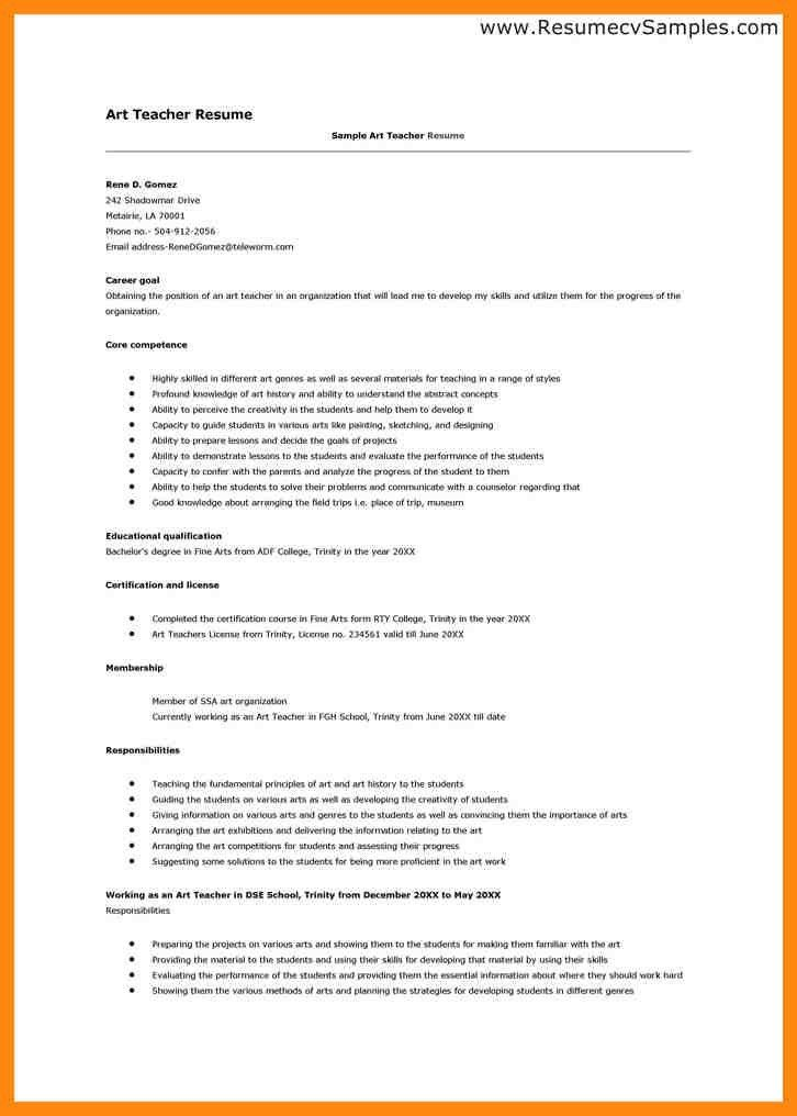 teacher biodata sample of teaching resume teacher resume samples