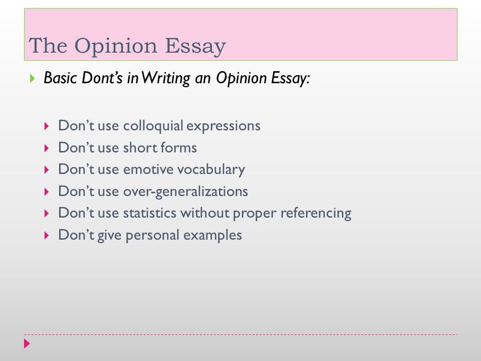 The Opinion Essay. - ppt video online download