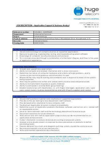 JOB DESCRIPTION – Product Manager - Huge Group