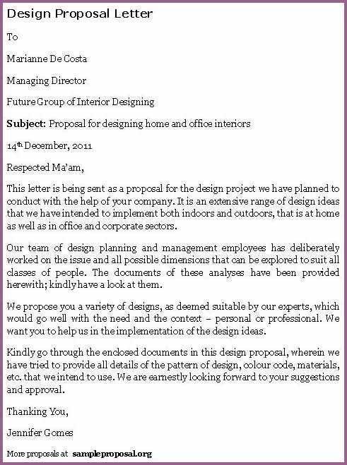 INTERIOR DESIGN PROPOSAL EXAMPLE | designproposalexample.com