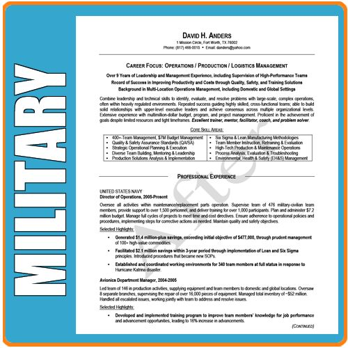 military cover letter