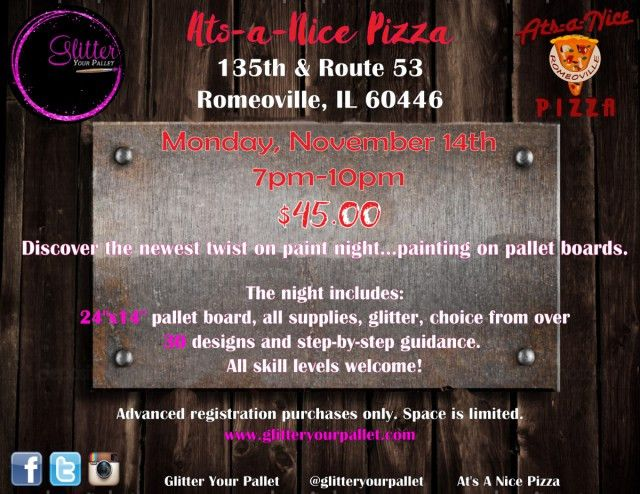 Ats-A-Nice Pizza – Romeoville – Open To The Public | Glitter Your ...