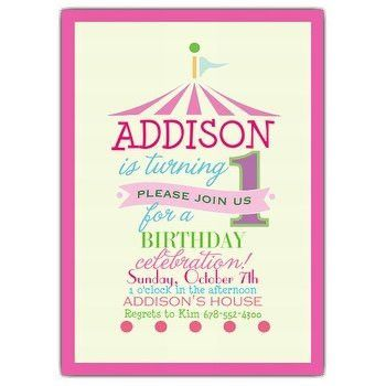 1st Birthday Invitation wording | PaperStyle