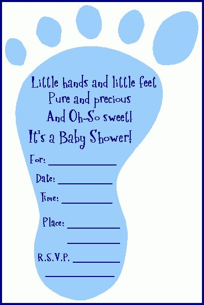 Amazing Free Printable Baby Shower Invitations Templates For Boys ...