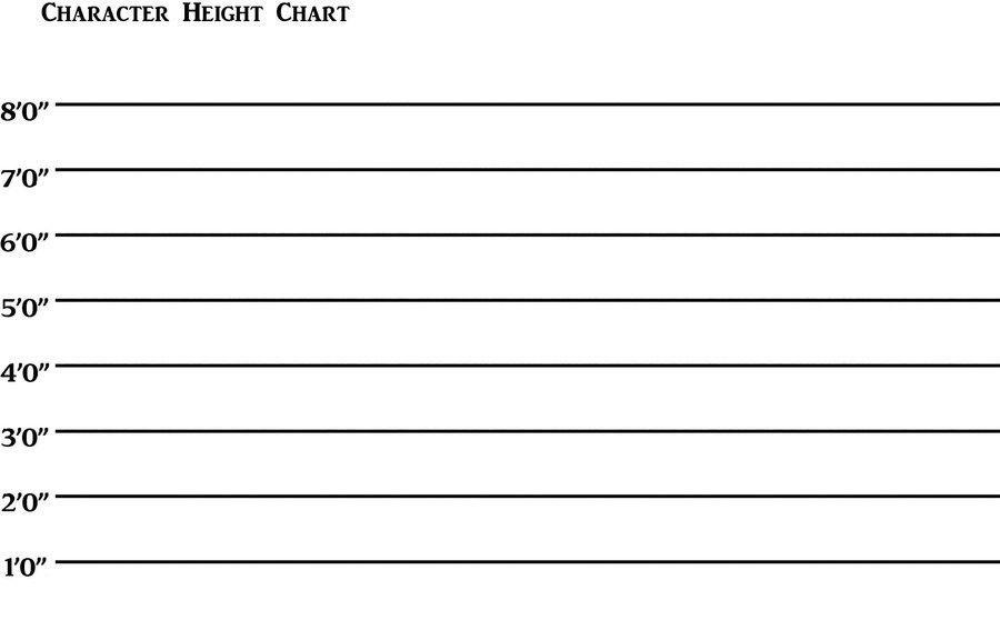 Blank Character Height Chart by RaisloverSakura on DeviantArt