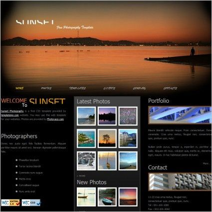 Website layout design free website templates for free download ...