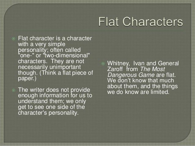 Characters in literature