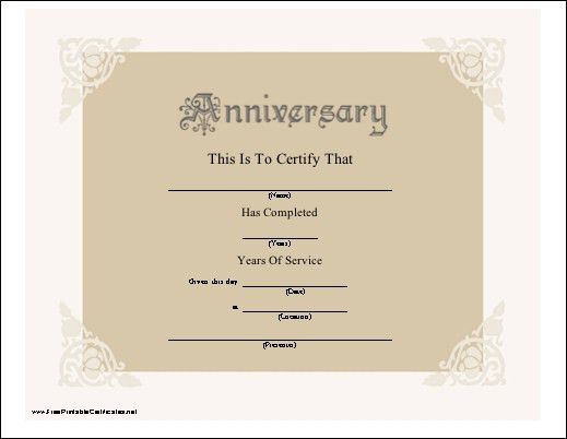 Awesome Free Printable Anniversary Cards Pictures - Best Resume ...