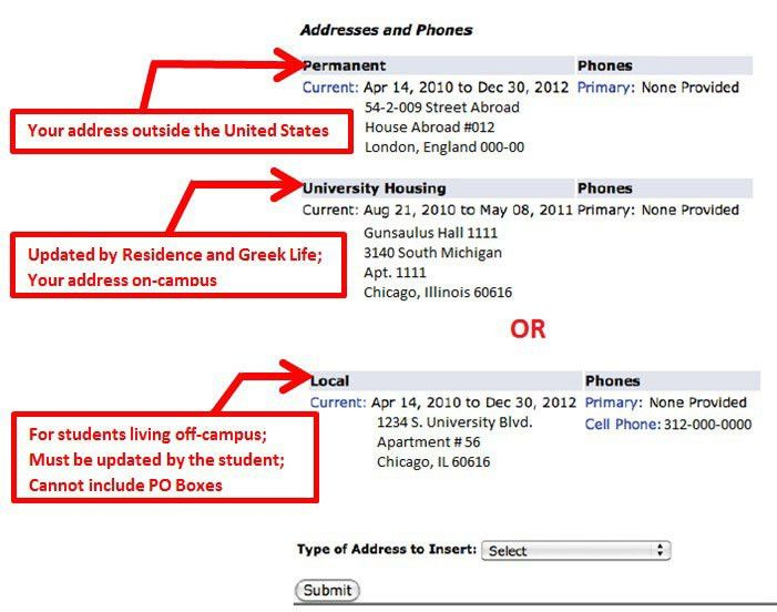 How to Update Your Address | International Center | Illinois ...