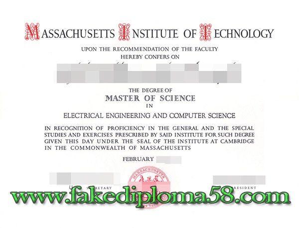 buy Massachusetts Institute of Technology (MIT) master degree from ...