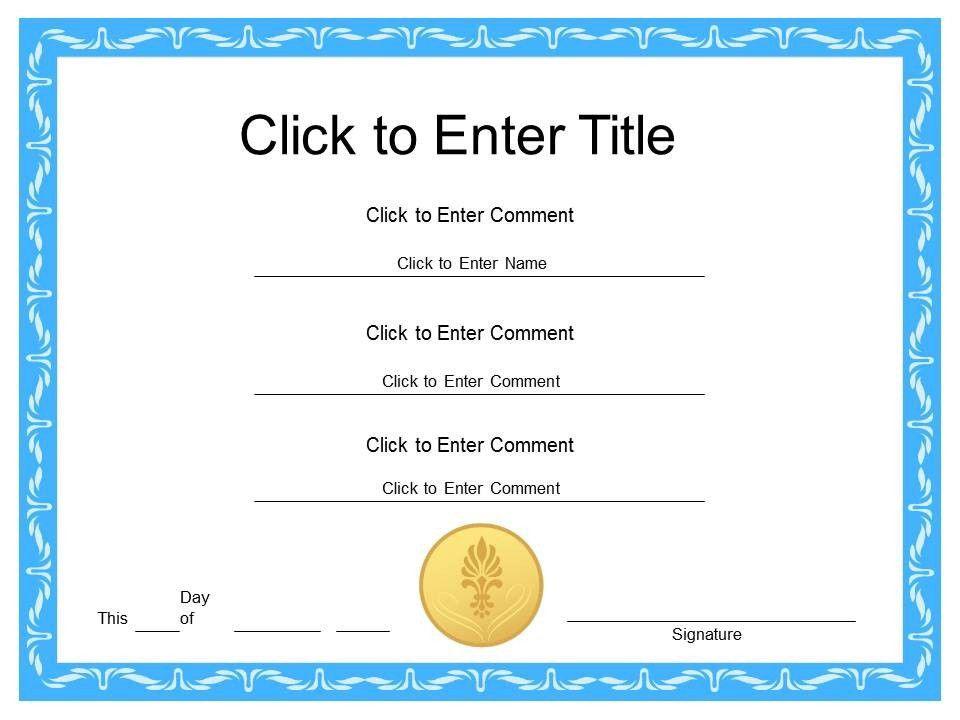 Printable Graduation Certificates   Certificate Templates