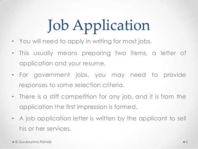 letter of application job employment application letter an