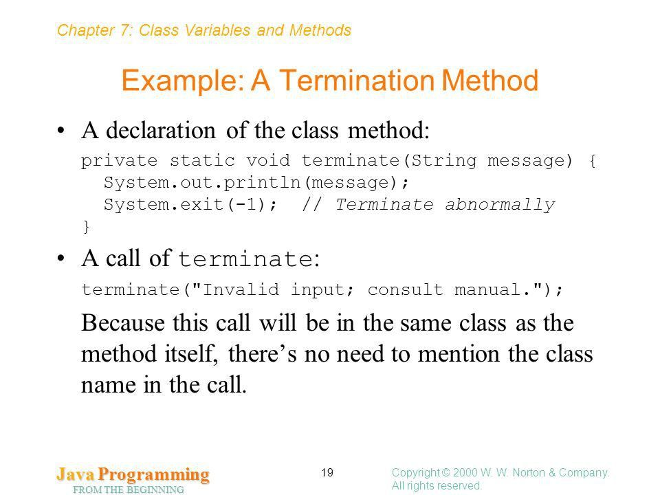 Class Variables and Methods - ppt download