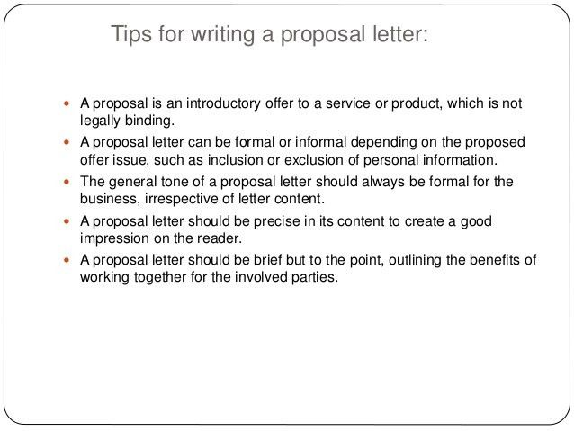 Sample Product Proposal Letter  Examples In Word Pdf